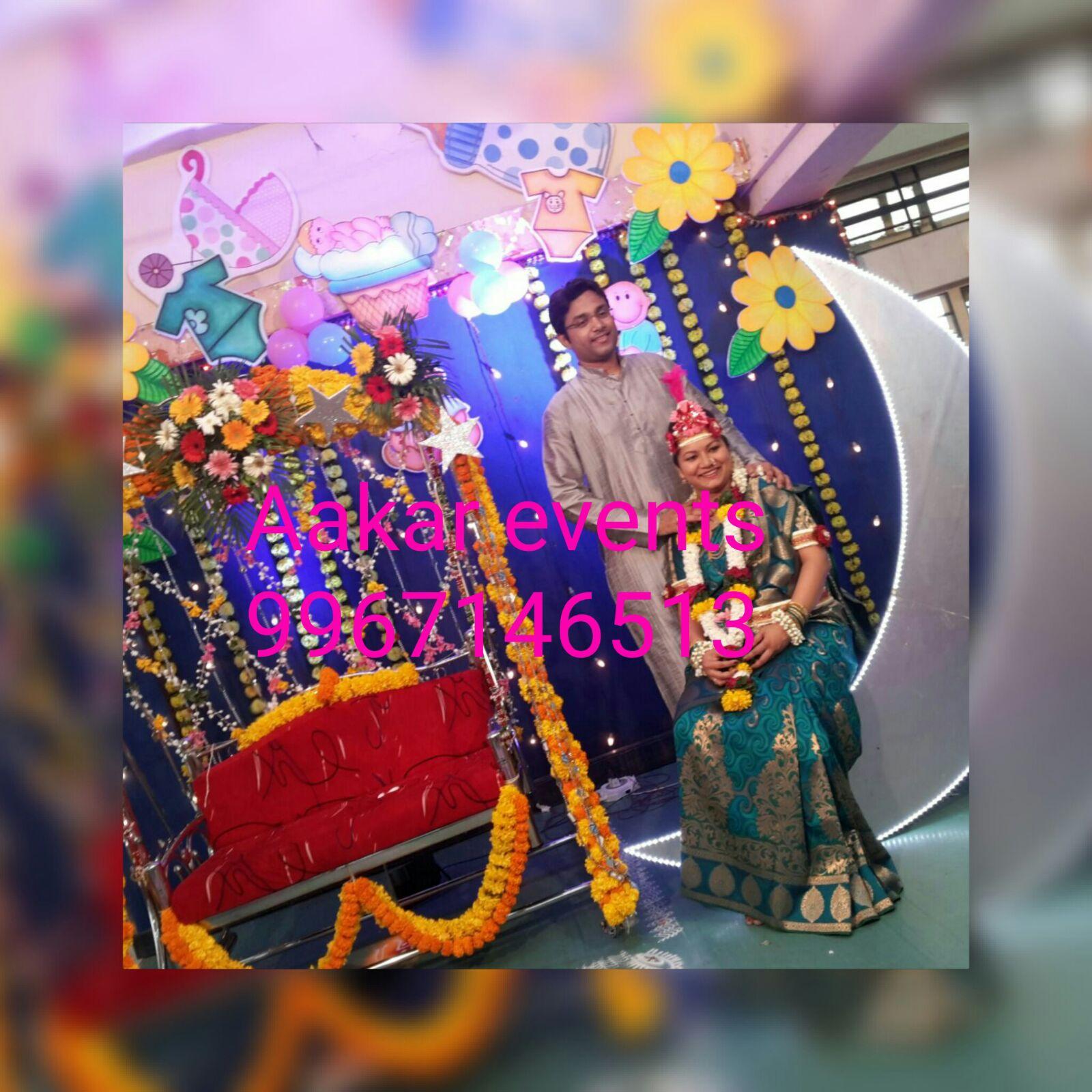 DOHALE JEVAN DECORATION IN MUMBAI ( BABY SHOWER DECORATION ...