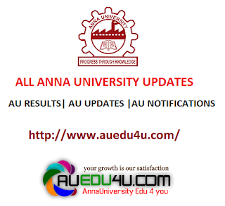 Anna university Timetable 2016
