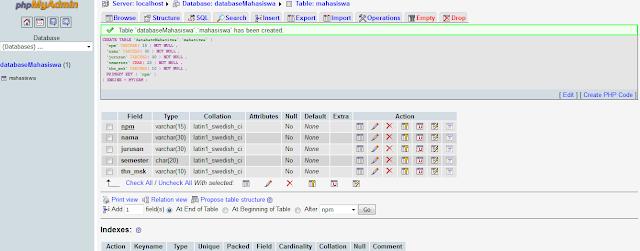 databasse MySQL
