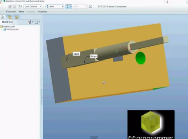 pro e assembly tutorials pdf