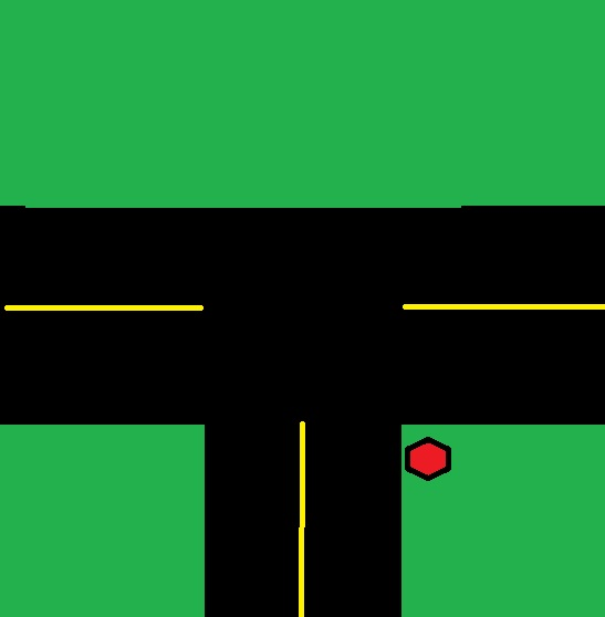 I'm So Glad My Suffering Amuses You: Stop! It's Not Your Turn!One Way Street Intersection