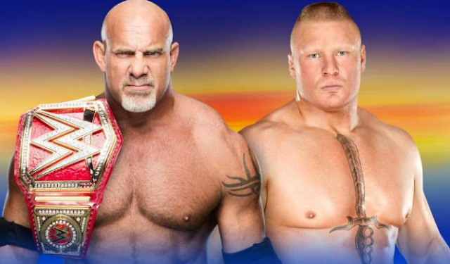 Goldberg Vs Brock Lesnar WrestleMania 33 Live Stream