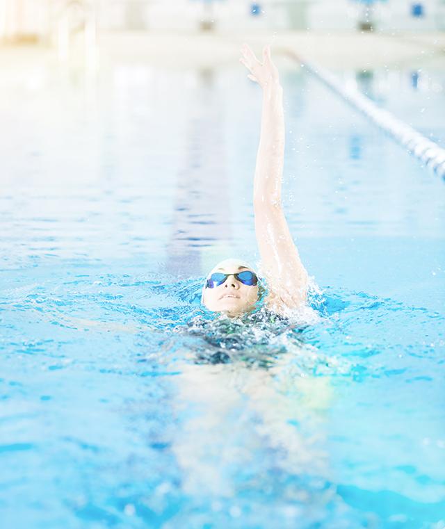 nadar para perder peso