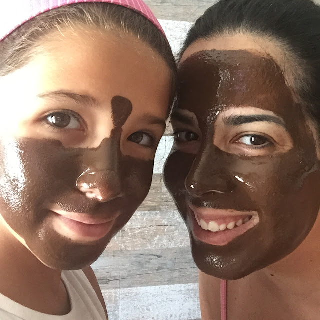 Chocolate-orange mask