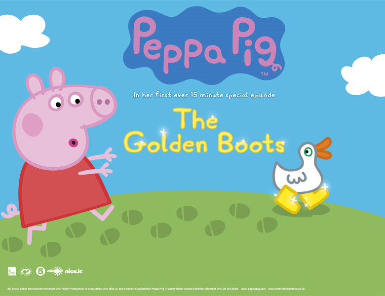 Nickalive Nick Jr Uk To Premiere Peppa Pig The Golden Boots On