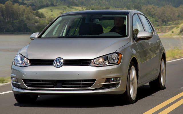 VW Golf 2015 - recall