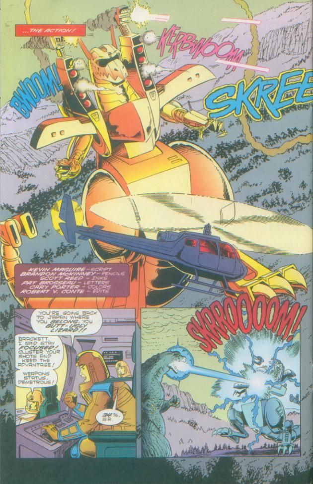 Godzilla (1995) Issue #2 #3 - English 5