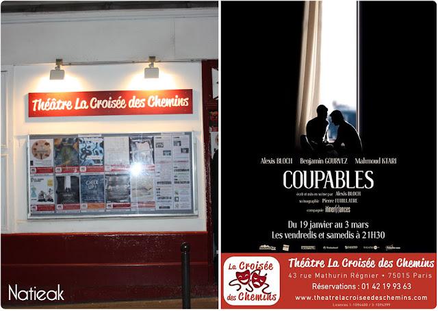 Coupables: théâtre La croissée des chemins