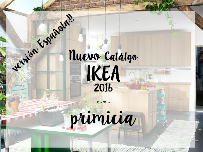 Nuevo Catálogo Ikea 2016 versión española