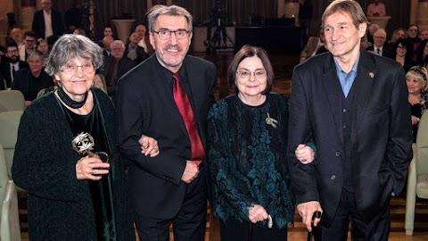 Magyar Mozgókép Szemle - Négyen vehették át a Magyar Filmakadémia életműdíját