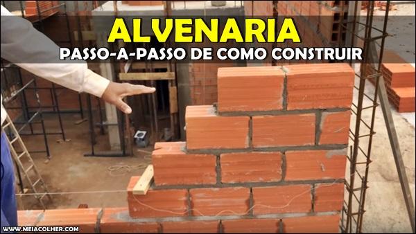 construção de alvenaria
