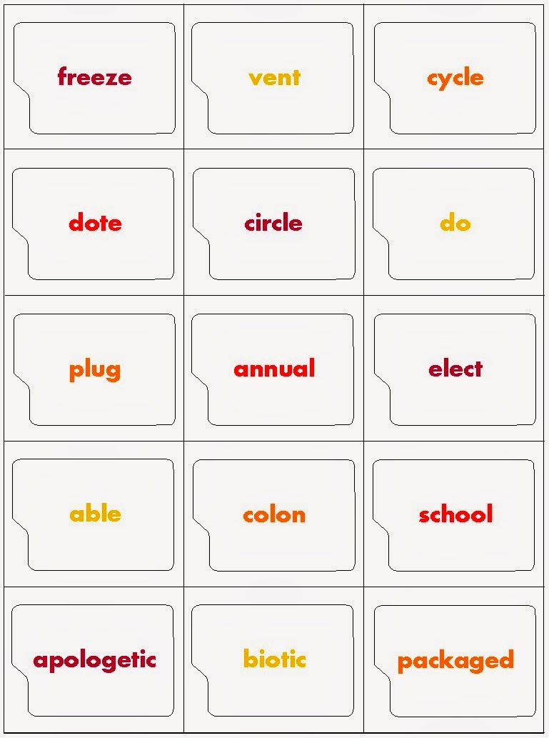 Workbooks suffix worksheets : Prefix And Suffix Flashcards Printable - popflyboys