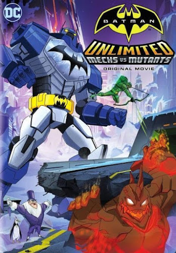 Batman Unlimited: Mech vs Mutants (Web-DL 720p Dual Latino / Ingles)  (2016)