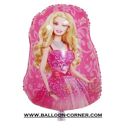 Balon Foil Karakter BARBIE