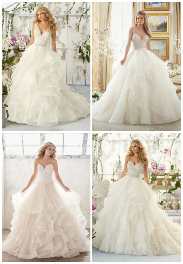 Brides Of America Online Store Gorgeous Wedding Dresses With Ruffles Amp Layers