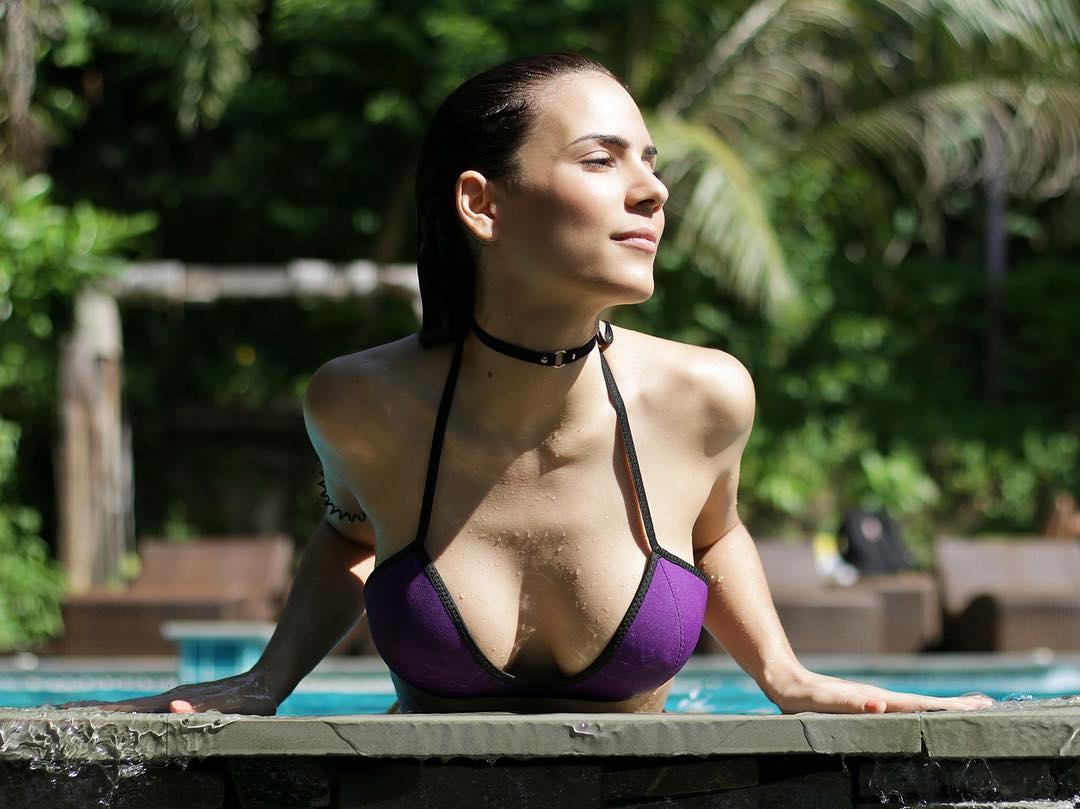 Olívia Ortiz in Bikini in Thailand