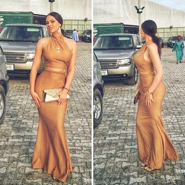 IK Ogbonna's wife flaunts her Kim Kardashian curves