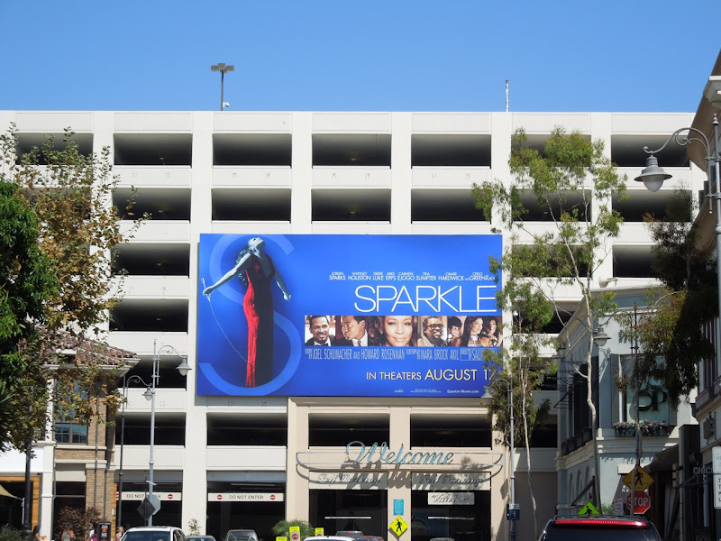 Sparkle movie billboard Grove