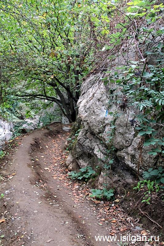 Ущелье Унот. Водопад Мамрот Кар. Республика Арцах