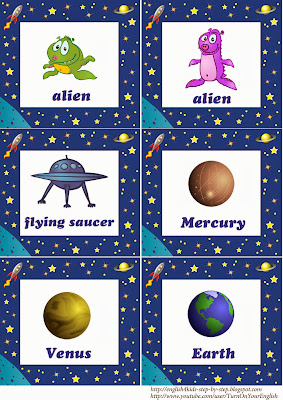 alien space flashcards