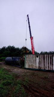 Batching Plant PT Gajah Mada Diduga Tak Kantongi Izin