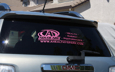 Lolaslistorg Stickers  Decals - Advocare car decal stickers