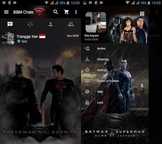 BBM Mod Dawn Of Justice v2.13.0.26 Apk Terbaru 2016