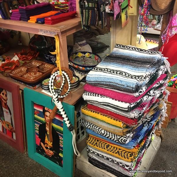merchandise at El Mercado at Market Square in San Antonio, Texas