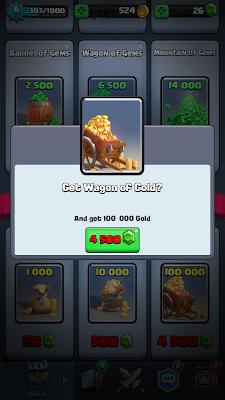 Clash Royale oro