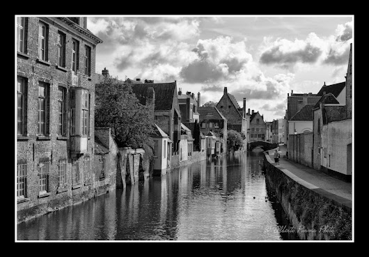 Nuvole sul canale - Bruges