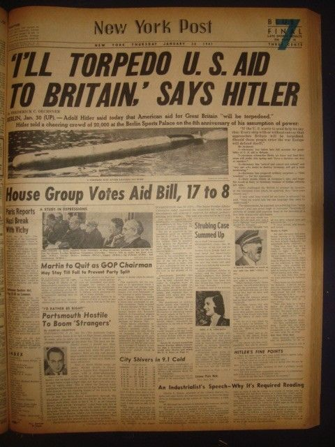 30 January 1941 worldwartwo.filminspector.com New York Post