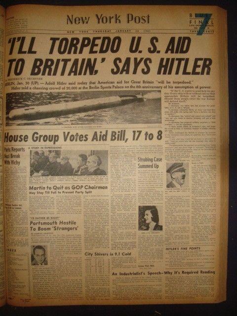30 January 1941 worldwartwo.filminspector.com New York Post