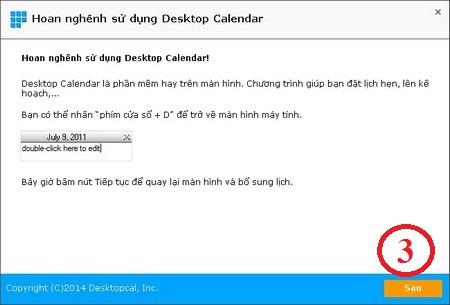 DesktopCal - phan mem Lich am duong, ghi chu tren man hinh desktop 2