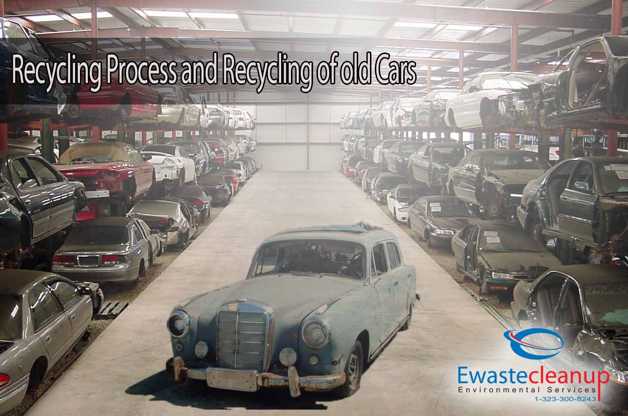 Recycling company recycling process and recycling of old cars for Where to dispose of old motor oil