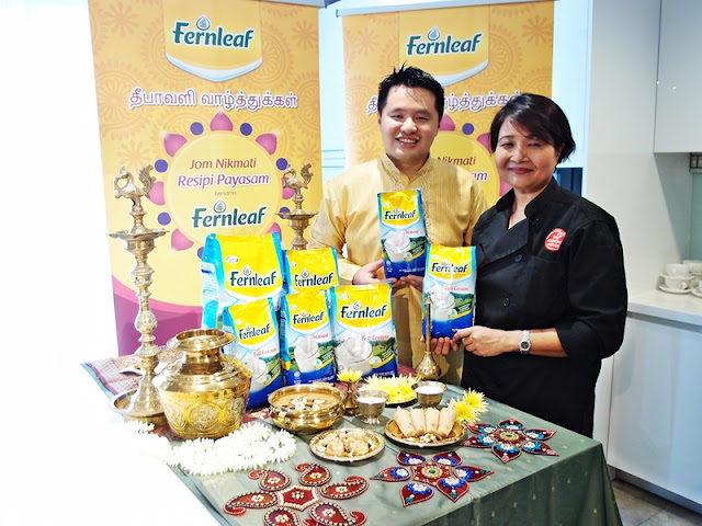 Deepavali 2016 Fernleaf Payasam Recipe Chef Annette Isaac With Martin Soong