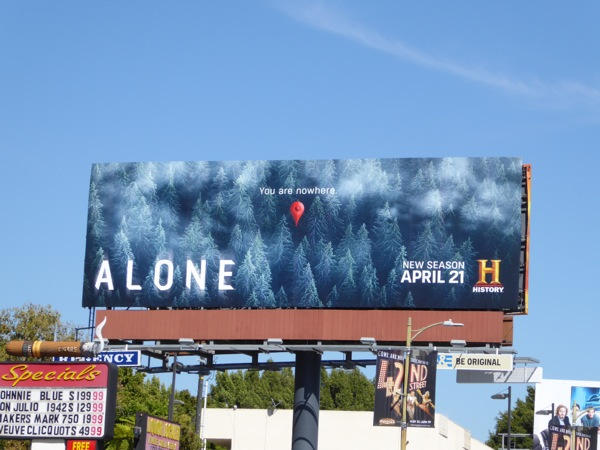 Alone season 2 History billboard