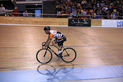 Brunswick Cycling Club racing Madison of Melbourne