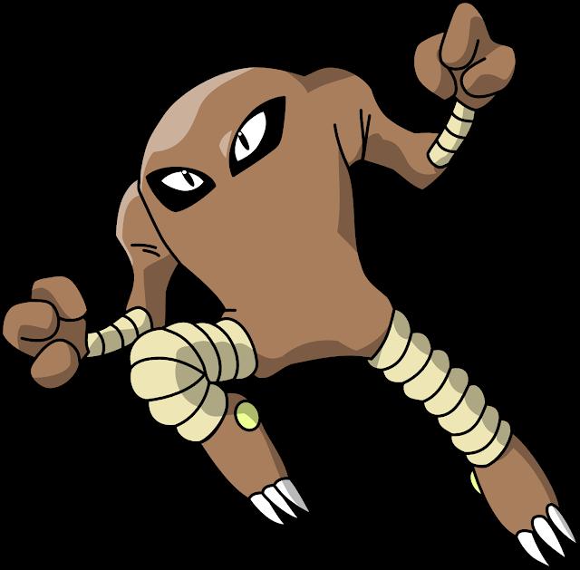 Pokémon Tipo Lutador em Pokémon GO