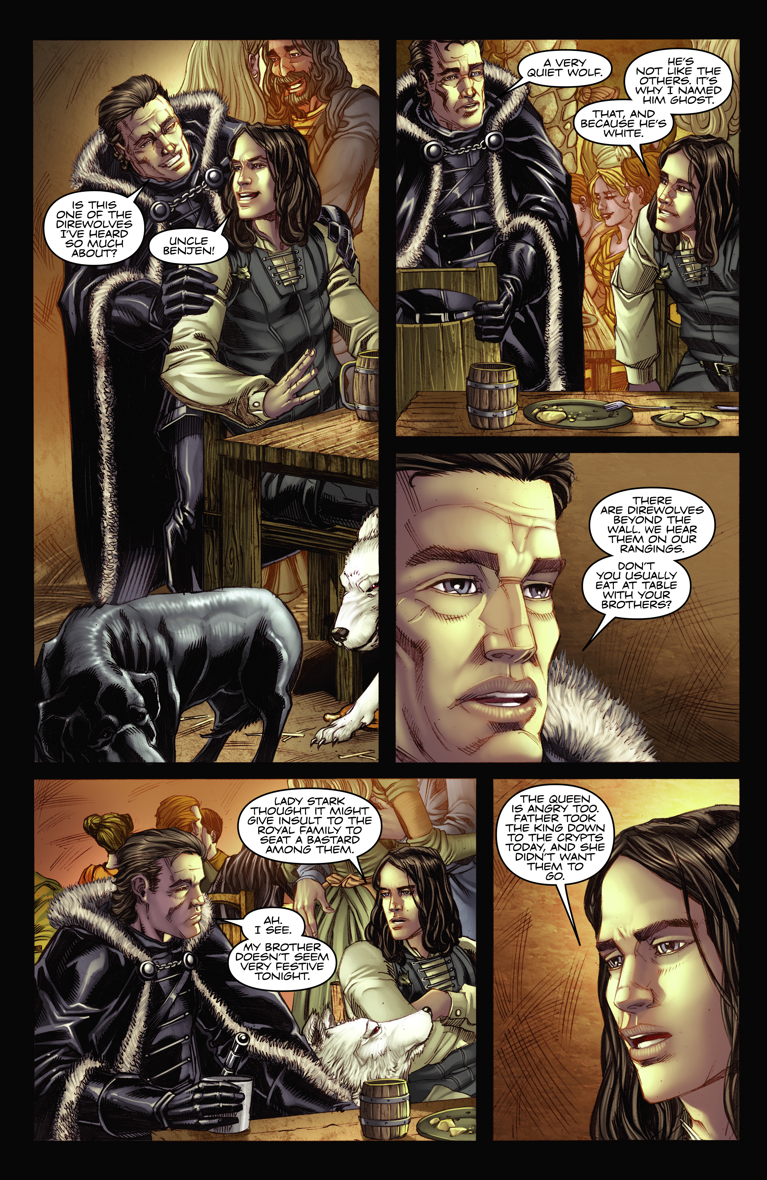 Read online A Game Of Thrones comic -  Issue #2 - 14