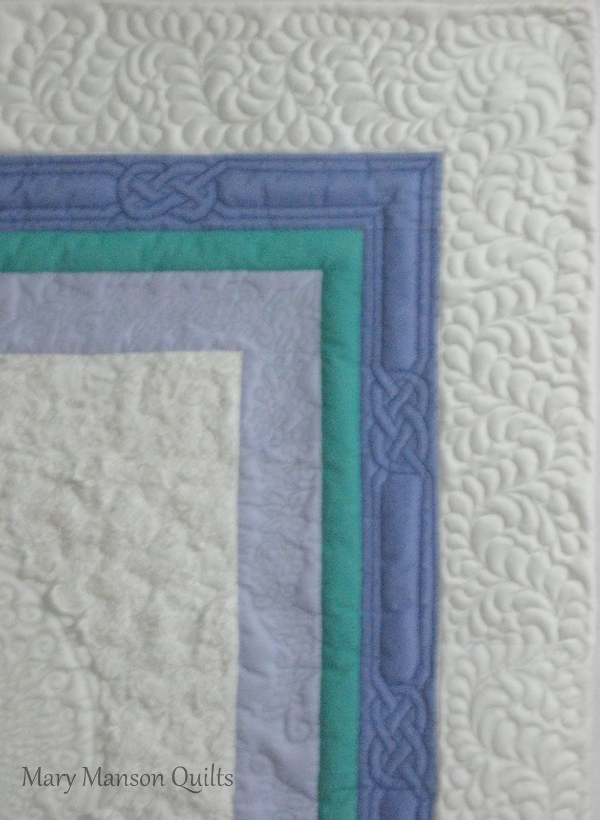 Mary Manson Quilts: Wedding Dress Quilt for Andrea