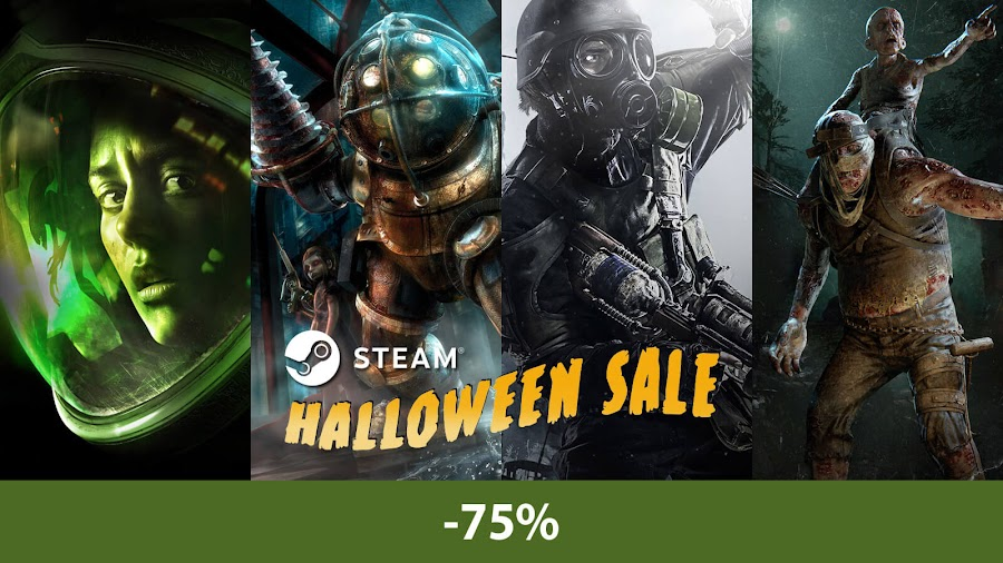 steam halloween sale 2018 alien isolation bioShock metro redux outlast 2