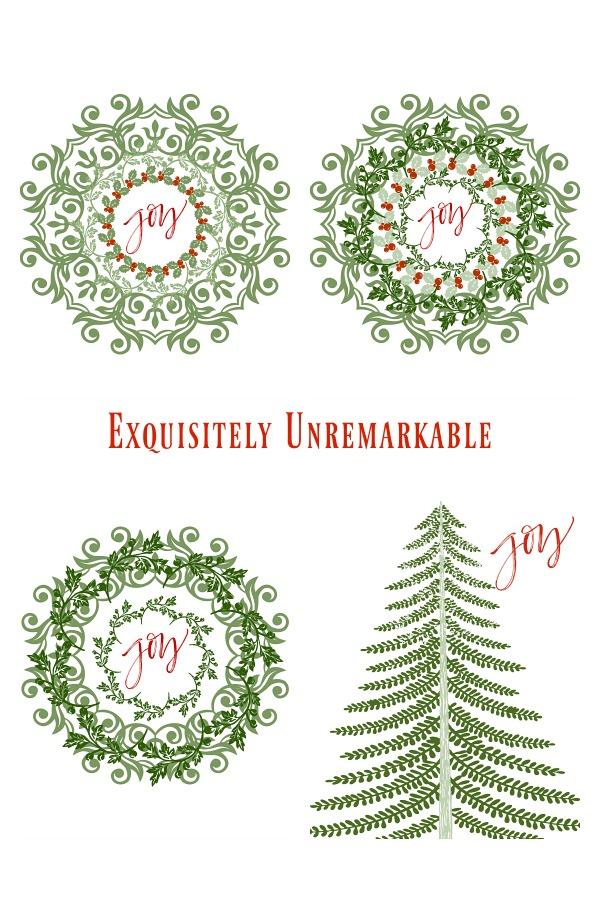 Christmas Printable Designs