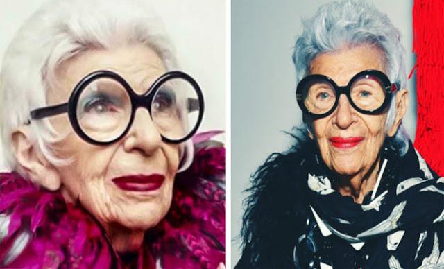 Γιαγιά 97 ετών έκλεισε το πρώτο της συμβόλαιο με πρακτορείο μοντέλων