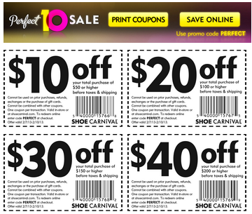 graphic about Shoe Sensation Coupons Printable referred to as Shoe carnival printable discount coupons april 2018 / Residence depot
