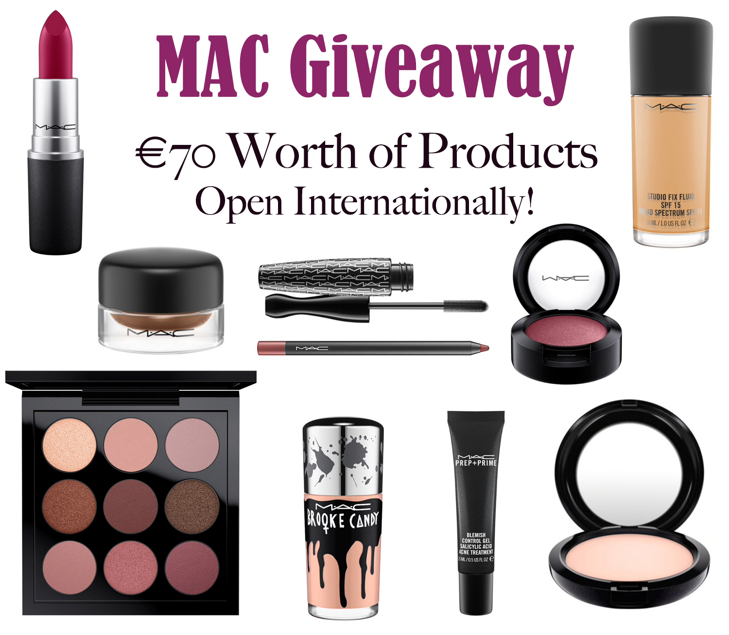 International MAC Giveaway