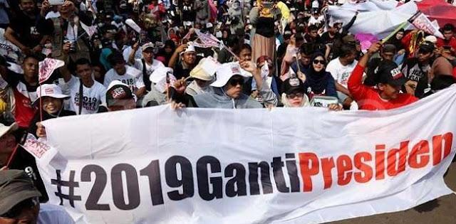 Gerakan #2019GantiPresiden Langkah Awal Memperbaiki Nasib Bangsa