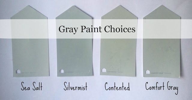 So I Scoured Blogs Pinterest My Sherwin Williams Until Decided On These Four Gray Paint Choices From Sw