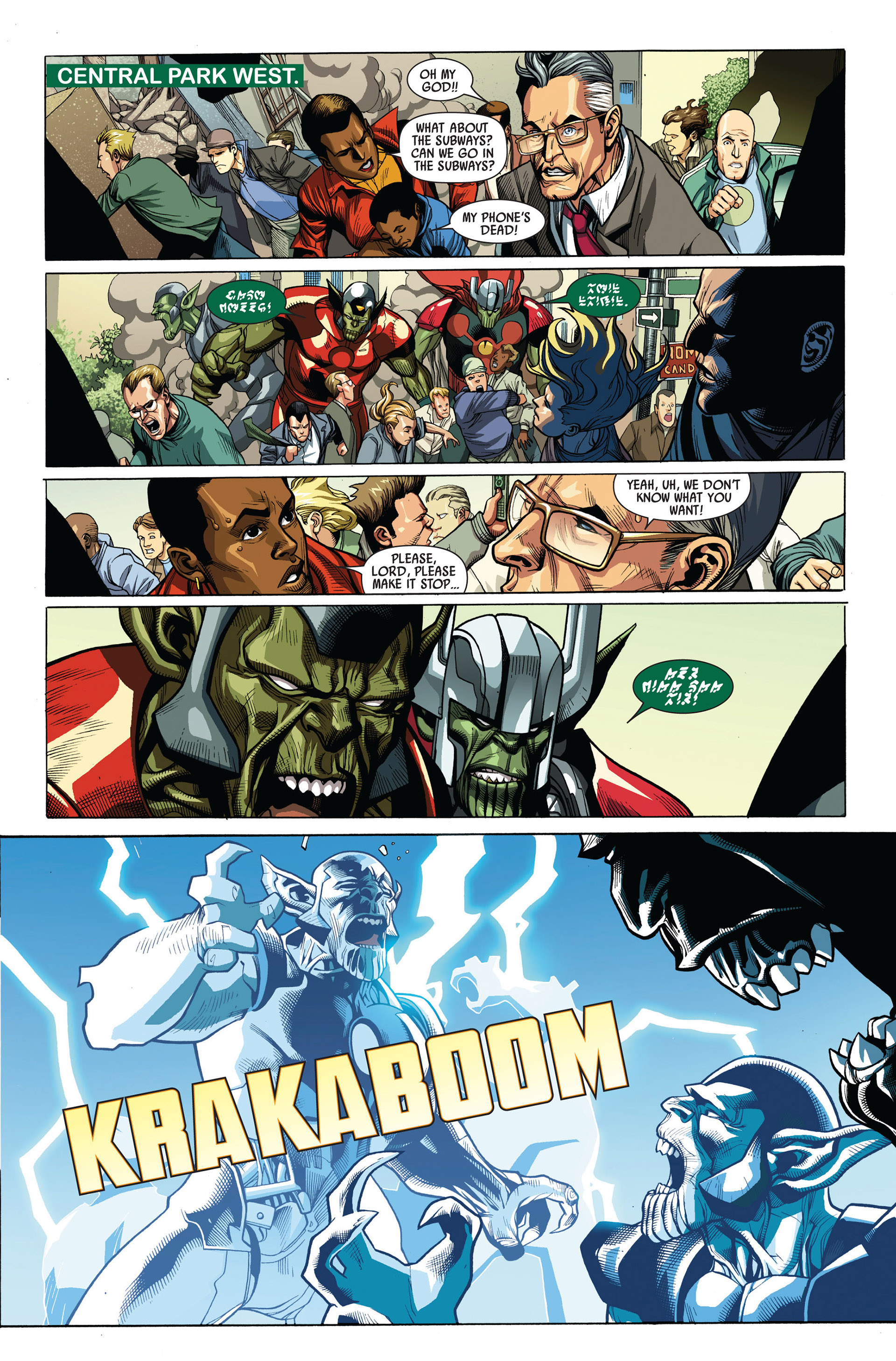 Read online Secret Invasion comic -  Issue #4 - 20
