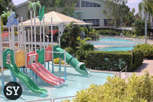 Kiddie pool of The Village Sports Club