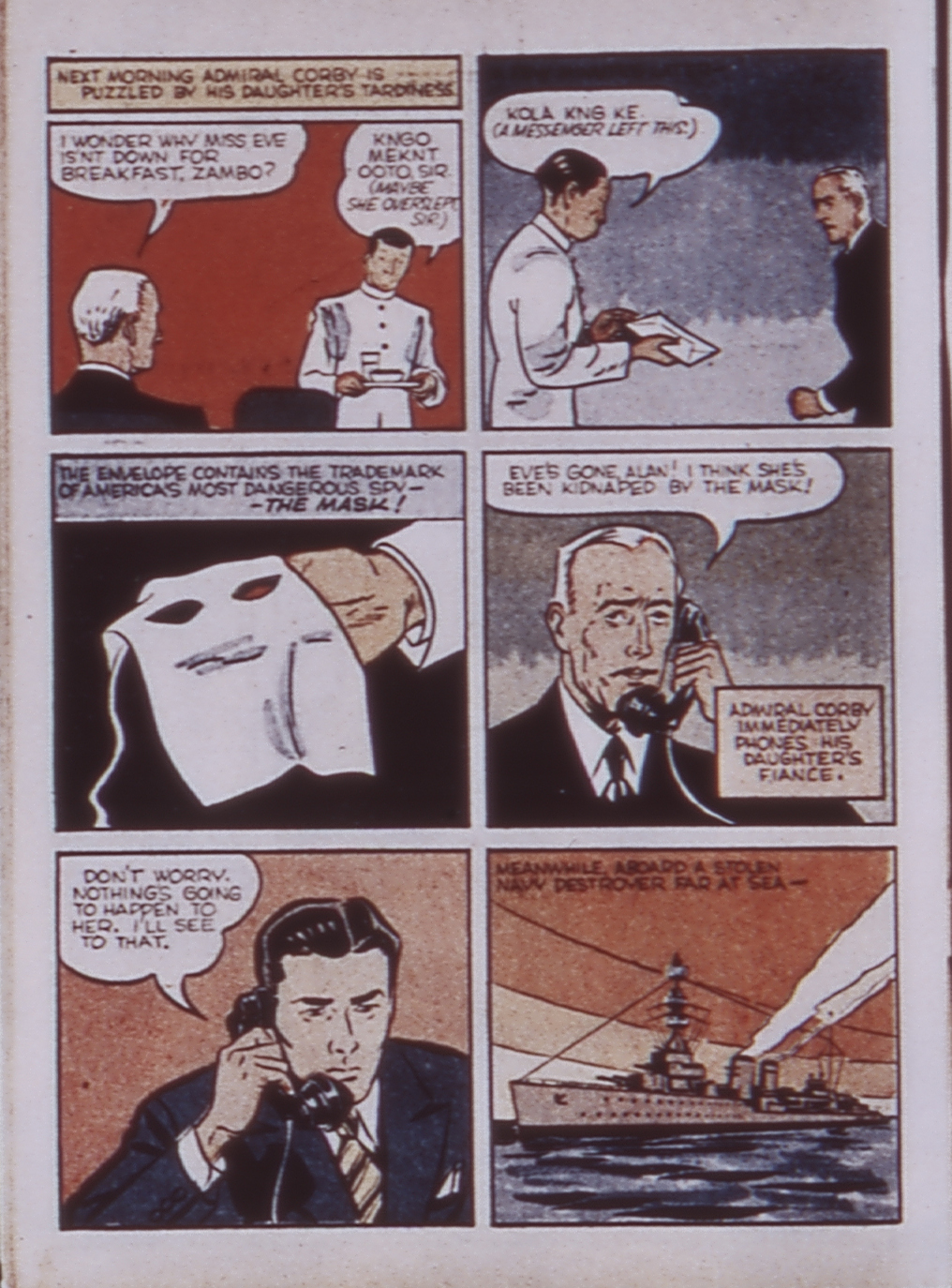 Read online WHIZ Comics comic -  Issue #3 - 62